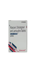 Inbec ( Abacavir 300 , Lamivudine 300 , Dolutegravir 50 Mg ) Tablets