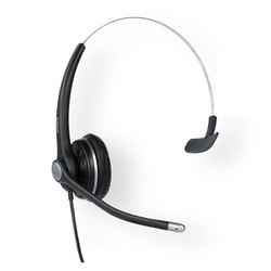 Black With Microphone Snom A100M Headset