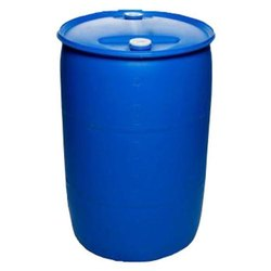 Blue 2 HDPE Narrow Mouth Drum, Capacity: 200 L