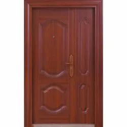 Brown SS Steel Door, For Home, Thickness: 50 To 90mm