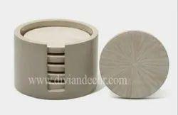 Bone Inlay Coasters