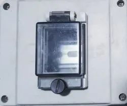 Flab cover Grey DP MCB BOX, 98x98x52, for Electric Fittings