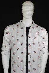 Casual Wear Printed Men Designer Shirt, Size: M L XL XXL