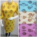 Women Printed Cotton Formal Kurtis