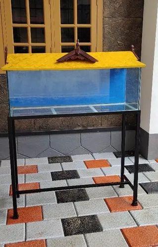Aquarium With Stand & Top, ग्लास अक्वेरियम्स - Aqua Pets ...