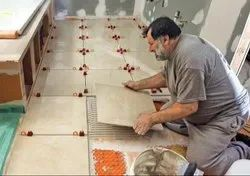 Large Tile Installation Manpower Service