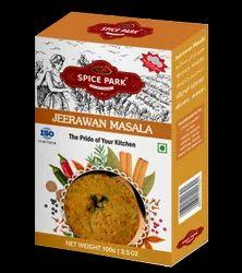 Spice Park Branded Spices :- Jirawan Masala, Packaging: Plastic Bag