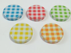 43mm Lug Cap / Twist Off Cap - Printed /Plain