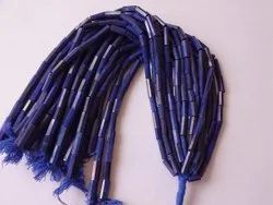 Lapis Lazuli Plain Smooth Pipe Tube Fancy Shape Faceted Briolette Craft Loose Gemstone Beads Strands