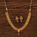 古董精致的镀金项链200729,大小:普通大小和可调