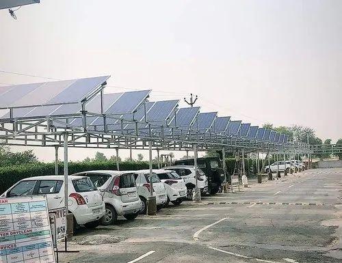 Car Parking Solar Structure