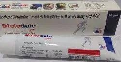 Diclofenac Diethylamine Linseed Oil 3% Methyl Salcilate 10% in Gel Base