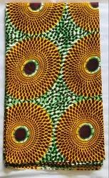 Cotton 44-45 African Print Fabric, For Garments, GSM: 150-200