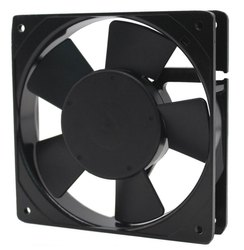 220v Ac Black Panel Cooling Fan, 220, 240 V Ac