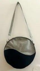 Beige Plain Recyc Jute Tote Fashion Handbag