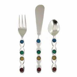 Appetizer Spoon Fork & Knife