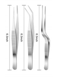 Multipurpose Stainless Steel Tweezer