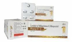 Mifepristone 200 Mg & Misoprostol 200 Mcg