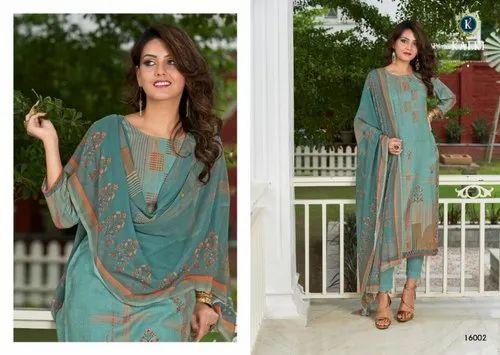 Pashmina Digital Print Salwar Suit
