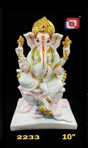 Artificial Gold Lord Ganesha