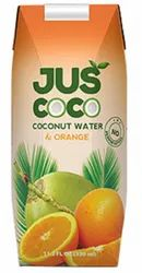 Pure Orange Juice With Coconut Water Drinks, Packaging Type: Carton, Packaging Size: 24 Pieces