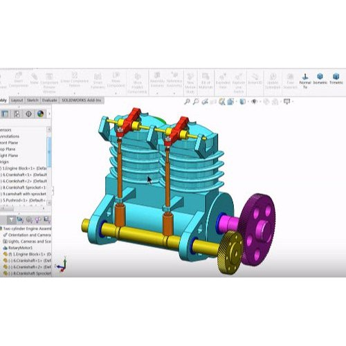3d Modeling Services For Mechanical Industry in Dombivli East