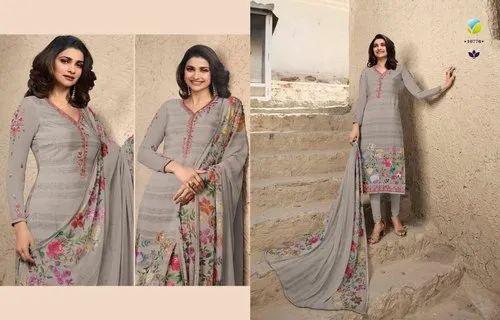 Vinay Fashion Silkina Royal Crepe Vol 27 Salwar Kameez