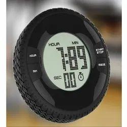 LCD Tire Digital Alarm Table Clock