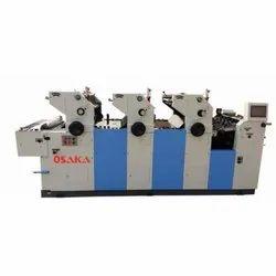 Offset Three Color Satellite Printing Machine
