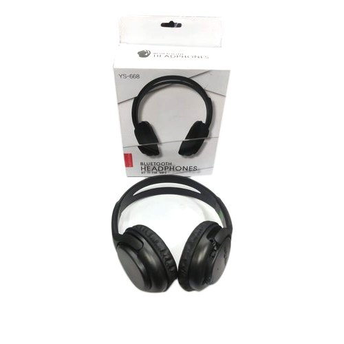 9a340028636 Black Wireless Bluetooth Headphones, Rs 390 /piece, Cell Accessories ...
