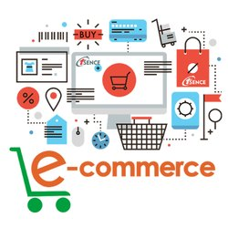 English E-Commerce Application Development Service, With Online Support