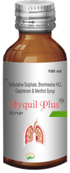 Hyquil Plus Syp - Bromhexine Terbutaline Guiphension Menthol