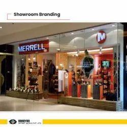 Metal 2D Board Showroom Branding, For Commercial, Shape: Rectangular