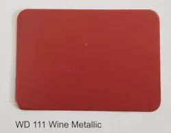 Wd 111 Wine Metallic Colours ACP Sheets