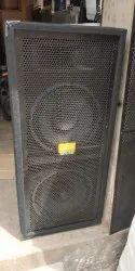Dual 12 Inch Two Way Speaker Box