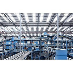 Automatic Waste Pet Bottle Recycling  Plant