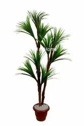 Artificial Green Yucca Plant