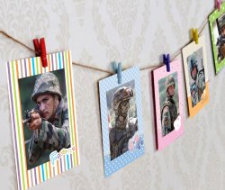 Paper Photo Frame Hanging, For Decoration