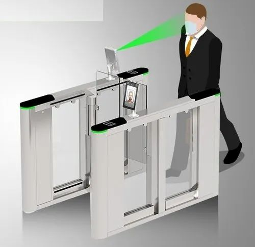 Flap Barrier With Face Reader