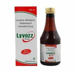 Rose Lycopene, Multivitamin, Multimineral And Antioxidant Syrup