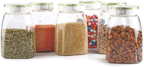 Airtight Food Storage Containers Plastic Kitchen Storage Container Set Kitchen Storage Jars 1 4l At Rs 55 Piece Food Storage Containers Id 21891265488