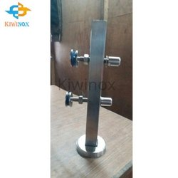 SS Glass Pipe Railing