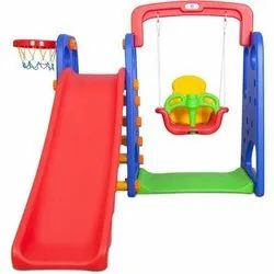 Park Slide With Swing