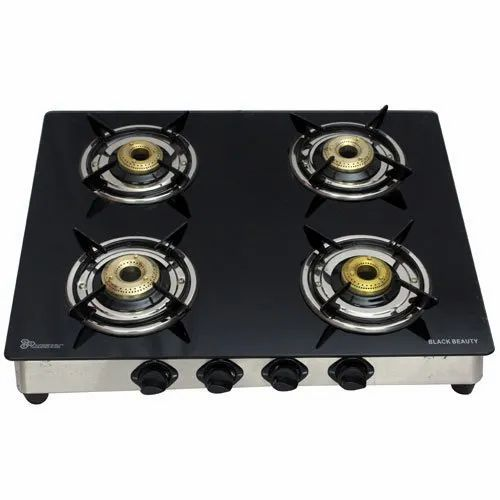 Glass Top Gas Stove, for Kitchen