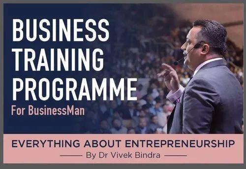 Dr Vivek Bindra Leadership Development Program Everything About Entrepreneurship