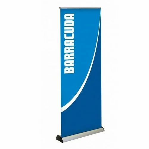 Flex Roll Up Standee Printing Services, for Advertising