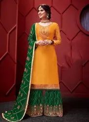 New Designer Eid Special Sharara Suits