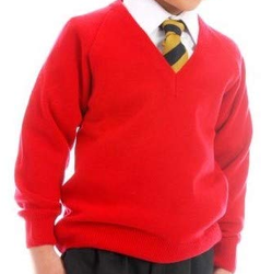 Red School Sweater