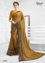 Fancy Ethnic Designer Wear Saree