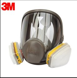 V-shaped 3m Full Face Gas Mask, Not Included, Model Name/Number: 6900
